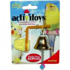 Игрушка д/птиц - Колокольчик, Small Bell Toy for birds