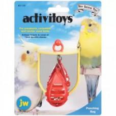Игрушка д/птиц - Боксерская груша с зеркальцем, пластик Punching Bag Toy