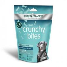 Ардэн Грэньдж Лакомство для собак, диетическое, низкокалорийное, с курицей (225гр) <br />AG Crunchy Bites light rich in chicken