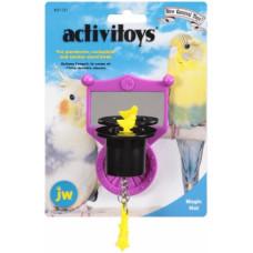 Игрушка д/птиц - Зеркальце с магической шляпой, пластик <br />Activitoy magic hat
