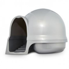 Booda dome cleanstep cat Туалет-купол с лесенкой для кошек ,серый