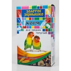 Золотое Зернышко корм для средних попугаев