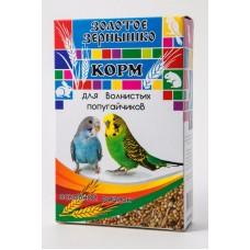 Золотое Зернышко корм для волнистых попугайчиков Основной рацион