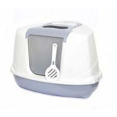 Benelux Astro cat toilet classic mix with filter. door en для кошек Угловой кошачий туалет