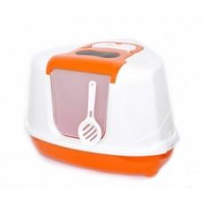 Benelux Astro cat toilet modern mix with filter. door and Угловой кошачий туалет