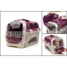 Hagen «Pet Cargo Cabrio»Перевозка для кошек и маленьких собак, лиловый/серый
