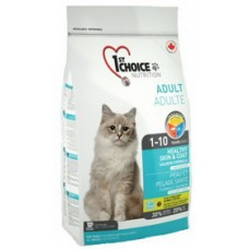 """1st Choice Cat Healthy Skin & Coat сухой корм для кошек """"Здоровая кожа и шерсть"""", Лосось"""