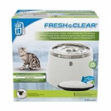 Hagen Catit Питьевой фонтанчик для кошек и собак с покрытием из нержавеющей стали 2 л