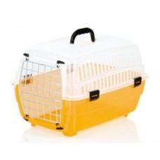 FOP Переноска малая, оранжевый низ, светлый верх для собак, кошек