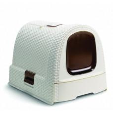 Curver PetLife Туалет-домик для кошек