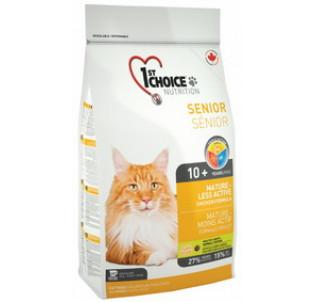 1st Choice Cat Mature or less active сухой корм для пожилых кошек с Цыпленком