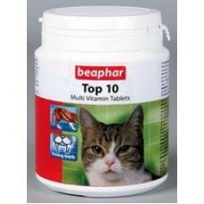 Beaphar Top 10 Витамины для кошек 180таб