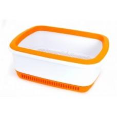 Canada Litter CatEco-кошачий туалет с системой защиты от запаха -оранжевый