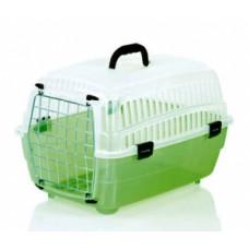 FOP Voyager Small Переноска малая , зеленый низ, светлый верх для собак, кошек