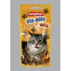 Beaphar Vit-Bits Подушечки для кошек с мультивитаминной пастой