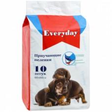 Everyday- впитывающие пеленки для животных гелевые 60 х 45 см .