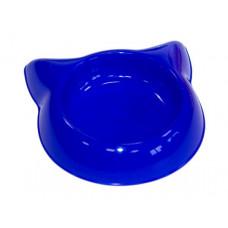 """Миска """"Кошка"""" пластиковая, 16 см, 250 мл"""