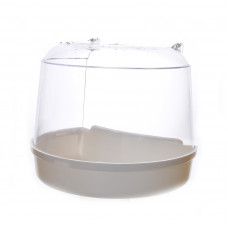 Ванночка для птиц для круглой клетки 15x11x12.5 см