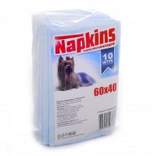 Впитывающие пеленки для собак 60x40, 10 шт.