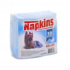 Впитывающие пеленки для собак 60x60, 10 шт.