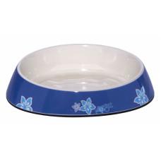 """Миска для комфортного кормления """"Fishcake"""" 200 мл, """"Синие цветы"""""""