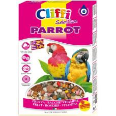 Для попугаев с ягодами фрутти и орехами