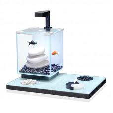 Aquatlantis Yin Yang 18 Аквариум 18л, 25х25х30см ,LED-светильник 1,3w. ,Фильтр ТС 200