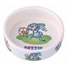 Dezzie Миска керамическая для грызунов, 110мл
