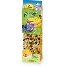 JR Farm Bakery Выпечка Палочки для грызунов с Бананом-Черникой