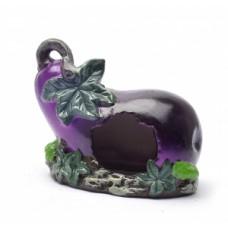 "Benelux Hamster house pottery Домик для хомячка ""Баклажан"""