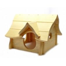 "Benelux Rodent house wood charly Деревянный домик для грызунов ""Чарли"""
