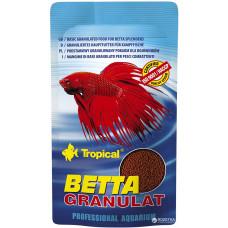 Tropical Betta Granulat 10гр. полноценный гранулированный корм для петушков и лабиринтовых рыб