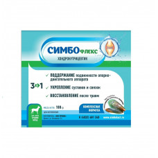 CИМБОфлекс, хондронутрицевтик для собак средних и мелких пород, 180 г
